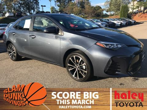 New 2018 Toyota Corolla SE 4 Door