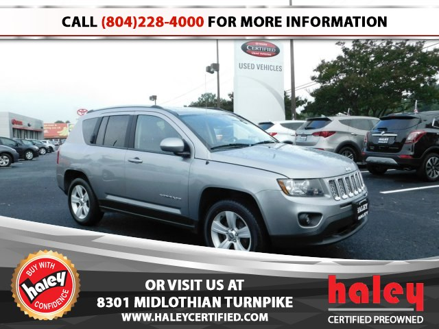 Attractive Pre Owned 2017 Jeep Compass Latitude