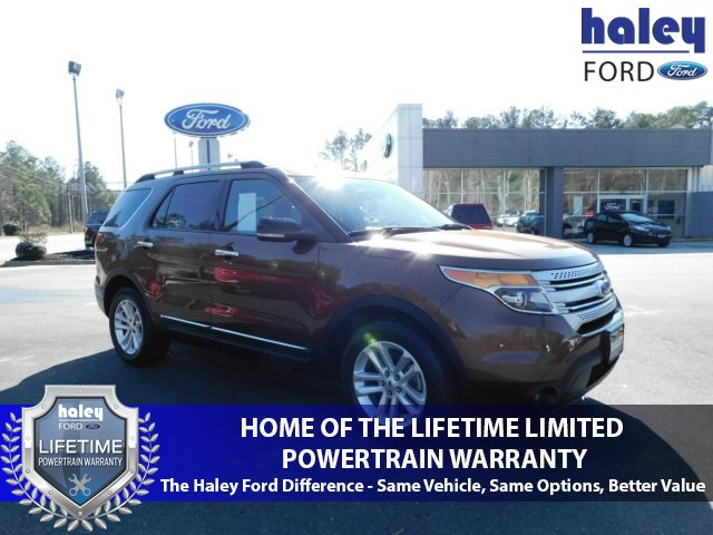 Ford Powertrain Warranty 2012 >> Pre Owned 2012 Ford Explorer Xlt Suv In Midlothian 2018335b Haley