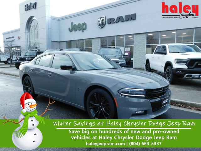 Pre Owned 2018 Dodge Charger R T Sedan In Midlothian J1436 Haley