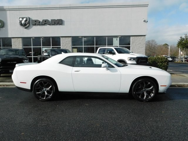 Pre Owned 2018 Dodge Challenger Sxt Coupe In Midlothian J1442
