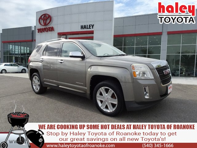 Pre-Owned 2012 GMC Terrain Gray - SLT - 1 AWD