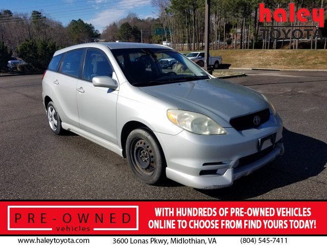 Pre-Owned 2003 Toyota Matrix Standard