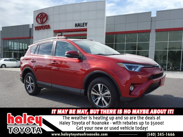Certified Pre Owned 2017 Toyota Rav4 Barcelone Red Xle