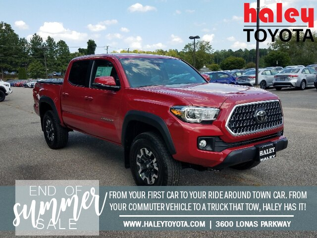 New 2019 Toyota Tacoma TRD Off Road V6 4WD Double Cab