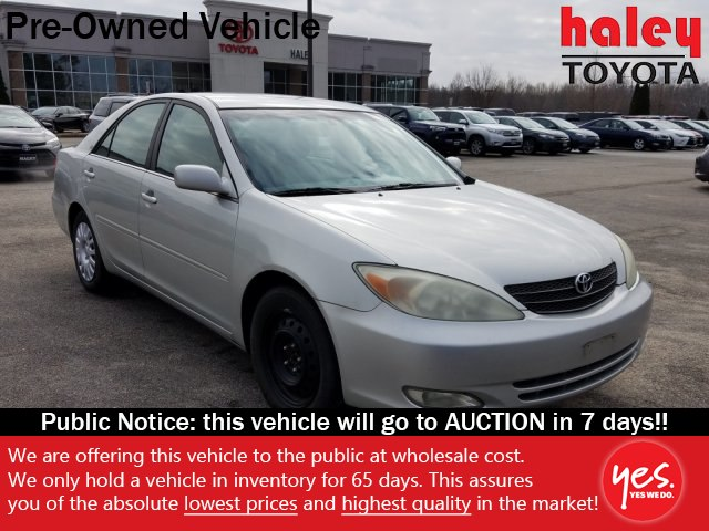 Pre-Owned 2003 Toyota Camry