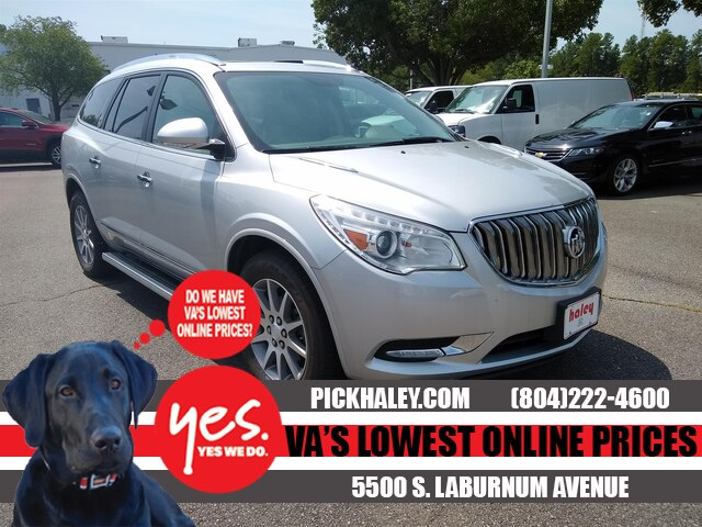 Pre-Owned 2017 Buick Enclave Silver - Leather