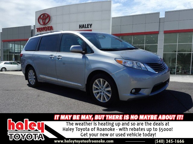 Pre Owned 2016 Toyota Sienna Silver Xle 7 Penger