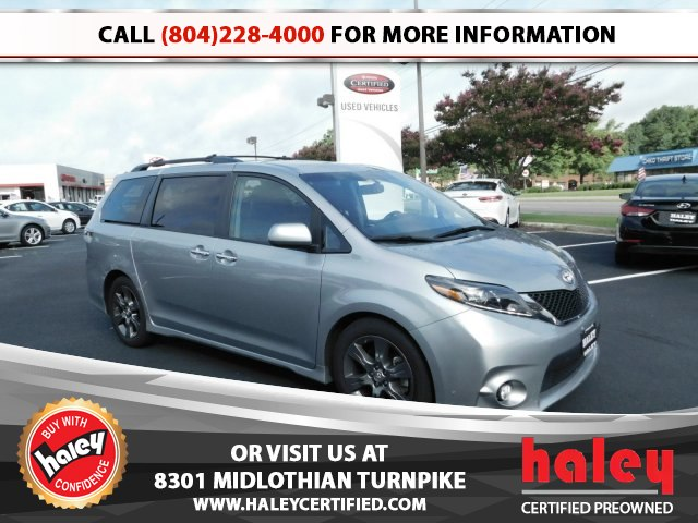 Superb Pre Owned 2015 Toyota Sienna SE 8 Passenger