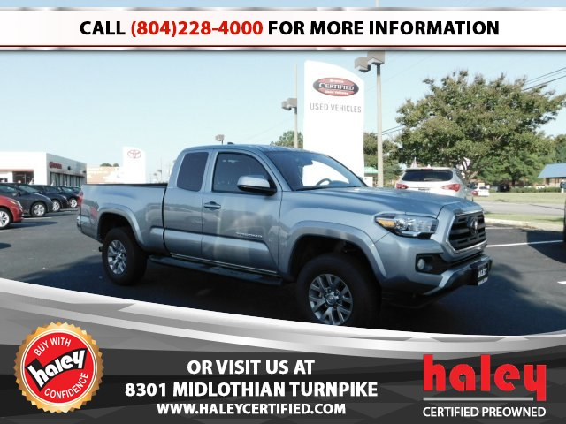 Good Pre Owned 2018 Toyota Tacoma SR5