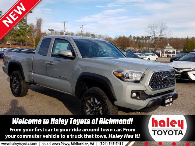 New 2019 Toyota Tacoma Trd Off Road V6 Truck In Midlothian H63494