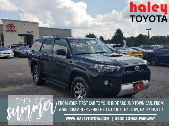 Pre-Owned 2018 Toyota 4Runner Black - TRD Off Road Premium